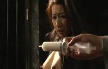 Kinky Japanese hoe gets an enema